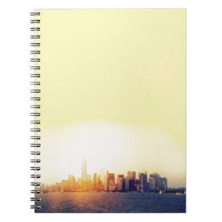 New York New York Spiral Note Book
