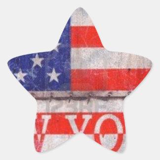 New York, New York Star Sticker