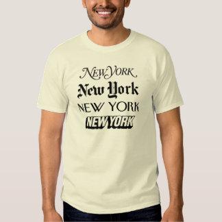 New York, New York T-shirts