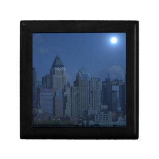 new york night blue gift box