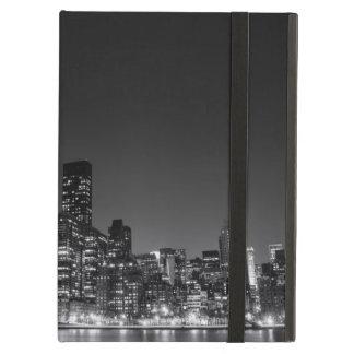 New York Night Skyline iPad Air Covers