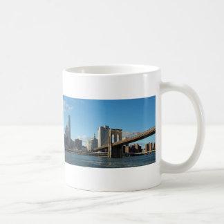New York November panorama Coffee Mug