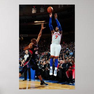 NEW YORK, NY - FEBRUARY 22:  Carmelo Anthony #7 Poster