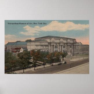 New York, NY - Metropolitan Museum of Art Poster