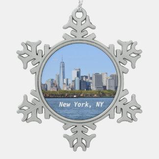 New York, NY Snowflake Ornament