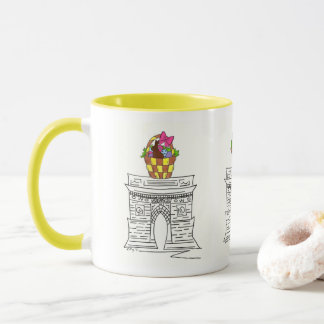New York NYC Washington Square Arch Easter Mug
