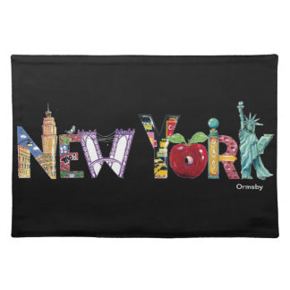 New York placemats