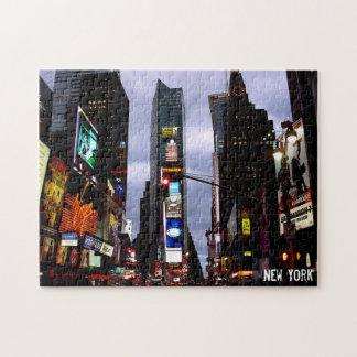 New York Puzzle Times Square Puzzle Souvenir