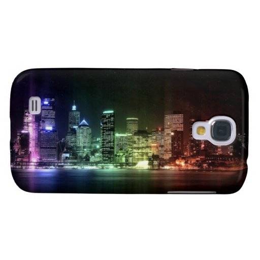 New York Rainbow collection Galaxy S4 Covers