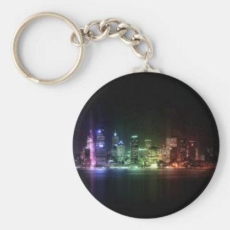 New York Rainbow collection Key Chain