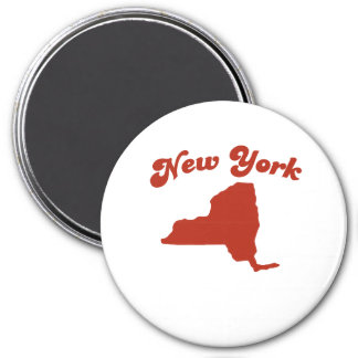 NEW YORK Red State Magnets