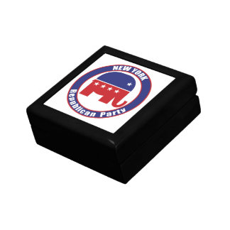 New York Republican Party Trinket Boxes