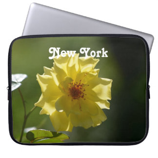 New York Roses Laptop Computer Sleeves
