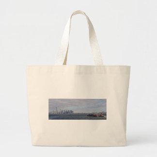 New York Shipping Jumbo Tote Bag