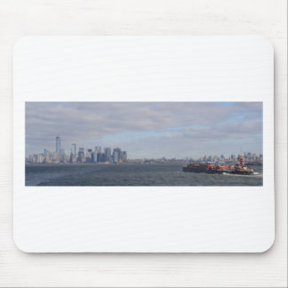 New York Shipping Mouse Pad