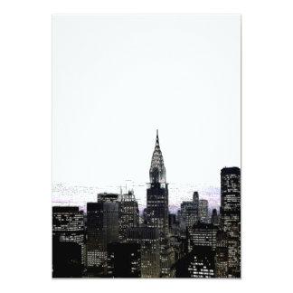 New York Silhouette Invitation
