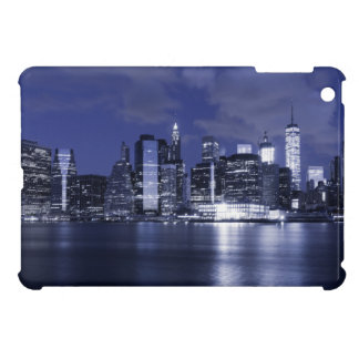 New York Skyline Bathed in Blue Cover For The iPad Mini