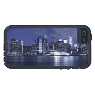 New York Skyline Bathed in Blue iPhone 5 Cover