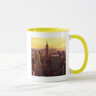 New York skyline city with Empire State Mug