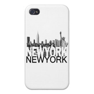 New York Skyline Covers For iPhone 4