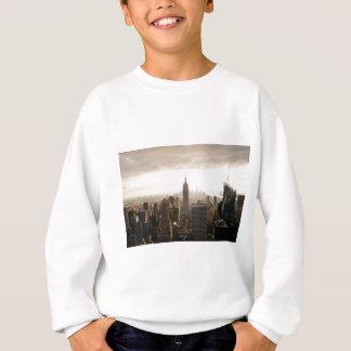 New York Skyline - dusk - grey Sweatshirt
