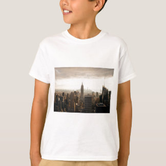 New York Skyline - dusk - grey T-Shirt
