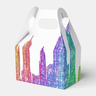 New York skyline Favour Box