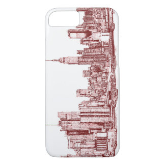New York skyline iPhone 8/7 Case