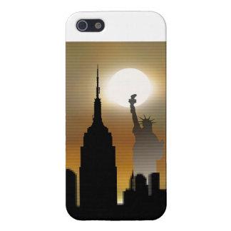 New York Skyline iPhone 5 Cases
