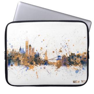 New York Skyline Laptop Sleeve