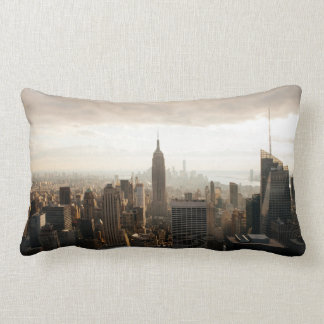 New York skyline Lumbar Cushion