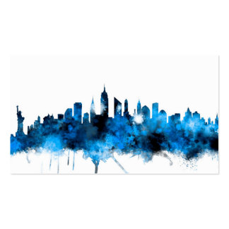 New York Skyline Pack Of Standard Business Cards