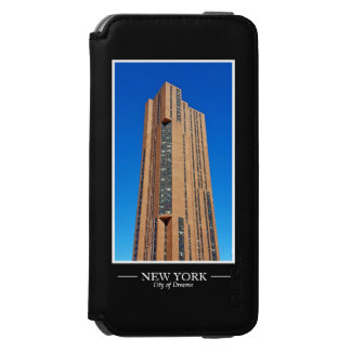 New York Skyline Photograph Frame Personalize Incipio Watson™ iPhone 6 Wallet Case