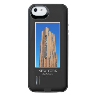 New York Skyline Photograph Frame Personalize iPhone SE/5/5s Battery Case