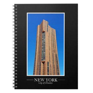 New York Skyline Photograph Frame Personalize Notebook