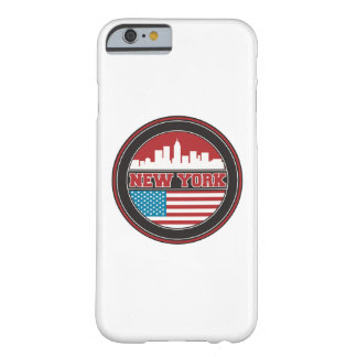 New York Skyline | United States Flag Barely There iPhone 6 Case