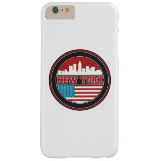 New York Skyline | United States Flag Barely There iPhone 6 Plus Case