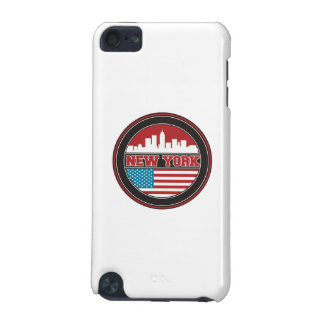 New York Skyline | United States Flag iPod Touch (5th Generation) Cover