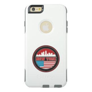 New York Skyline   United States Flag OtterBox iPhone 6/6s Plus Case