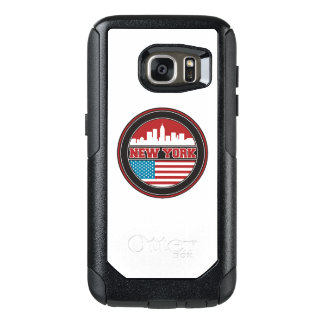 New York Skyline | United States Flag OtterBox Samsung Galaxy S7 Case
