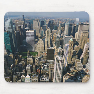 New York Skyline view from Empire State Building Mousepad