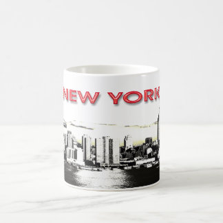 New York Skyline with twin towers mug