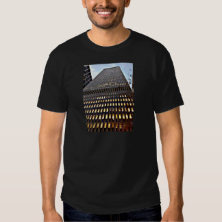 New York Skyscraper at Dusk Photo Print Tshirt
