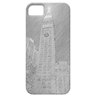 new york skyscraper sketch barely there iPhone 5 case