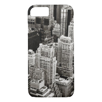 New York Skyscrapers From Above iPhone 7 Case