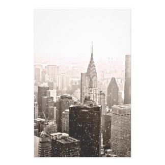 New York Snow Stationery