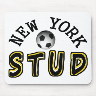 New York Soccer Stud Mouse Pad