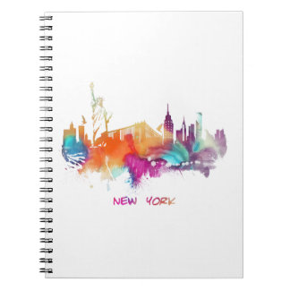 New York Spiral Notebook