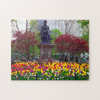 New York Spring Flowers. Jigsaw Puzzle
