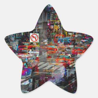 New York Star Sticker